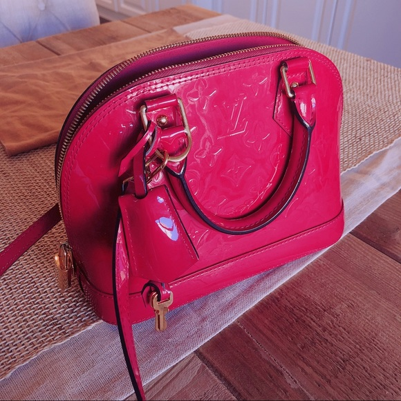 ef74c95a Authentic Louis Vuitton alma B.B. Pink